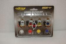 CARSON XMODS 59700 Speed Motor Set (4er SET) NUOVO & OVP