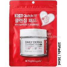 [Nightingale]Daily Derma Cleansing Pads Mild (10Pads/36ml) /Makeup Remove