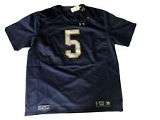Notre Dame Under Armour On-field Collection Authentic Jersey #5 Size 3XL