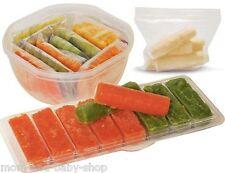 FAIRHAVEN HEALTH MILKIES BABY FIRST FOOD FREEZER STORAGE TRAY 16 oz/ 480 ml 2-PK