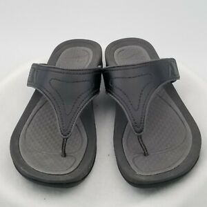 Dansko Womens Size US 7.5  Sandals Thongs Round Toe Size  EURO 38 Black