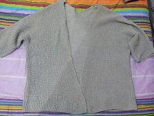 lotto 499 maglia cardican donna grigio copri spalla tg.L