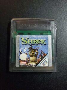 Shrek Fairy Tale FreakDown Nintendo Game Boy Color EXMT condition cart authentic