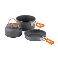 Chub 3 Pieces Cook Set 1404688 Kochgeschirr Topf Pfanne Wasserkessel Kochset