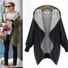 Plus Size Women Ladies Winter Warm Long Tops Jacket Parka Coat Trench Clothes