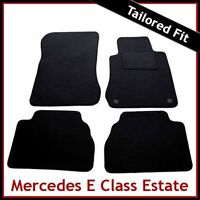Tailored Carpet Floor Mats for MERCEDES E-Class Estate 1995-2002 BLACK
