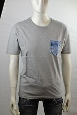 Diesel trueno gris Camiseta Mangas Cortas Hombres Talla XS