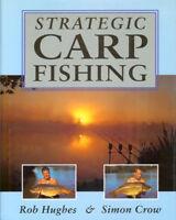 HUGHES ROB COARSE ANGLING BOOK STRATEGIC CARP FISHING bargain HARDBACK new