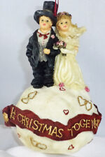 Boyds Dollstone Ornament, Ryan & Diane – Love Is Forever, #25856, LimitedEd, New