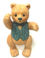 Dept. 56 Ted D Bear Ceramic Figurine Moving Legs And Arms