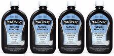 4 Tarn-X TARNISH REMOVER Silver Platinum Copper Gold Diamonds 12 oz Wipe & Rinse
