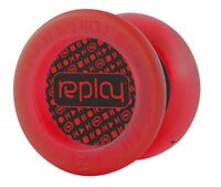 Replay Red Responsive Beginner Yo Yo YOYOFactory + 3 Neon Strings YEL/ORG/GRN