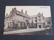 Sherborne School UK Postcard