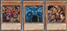 YuGiOh > Götterkarten Slifer Obelisk & Ra < DEUTSCH LDK2-DES01-03 Ultra Rare