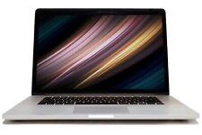 "Apple MacBook Pro 15.4"" 2014 A1398 Intel i7 16GB RAM 256GB SSD WiFi macOS 10.15"