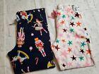 Girls+Old+Navy+2+pair+fleece+pajama+bottoms.+Size+Large+10-12