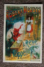 Robert Houdin magician poster #7 1895 Le Reve De Coppelius