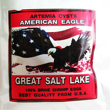 Brine Shrimp Eggs Artemia Cysts 50 g Best Quality Larval Fish USA
