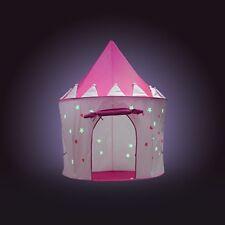 Fox Print Princess Castle Play Tent, Pink, Barbie, Glow in the dark stars