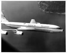 Boeing Airplane 707-320B In Flight Press Release B & W Photo
