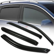 FOR 04-08 F150 SUPER CREW SMOKE TINT WINDOW VISOR SHADE/VENT WIND/RAIN DEFLECTOR