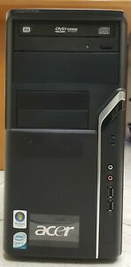 PC DESKTOP ACER ASPIRE M1610 RAM DDR2 4GB DVD-RW INTEL CORE 2 DUO E4500 NVIDIA