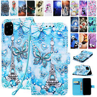 For Samsung Galaxy A10E A20 A30 A40 A50  Magnetic Flip Leather Wallet Case Cover