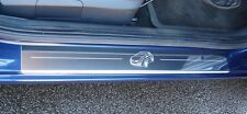 Renault Clio (06-12) Stainless Steel Kick Plate Car Door Sill Protectors - K126