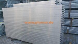 Gerüst Typ Layher 20 qm mit Durchstieg Fassadengerüst Stahlböden 3,07 m NEU !