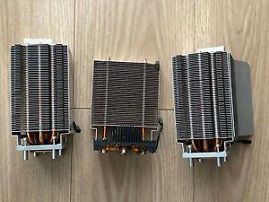 Apple Mac Pro 2008 3,1 A1186 CPU set of Heatsinks