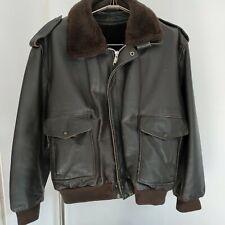 Blouson pilote cuir MAC DOUGLAS Taille XL Vintage