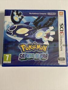 Jeux 3DS Pokemon SAPHIR ALPHA NEUF SOUS BLISTER