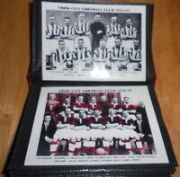 YORK CITY FOOTBALL CLUB PHOTO ALBUM (1930's/40's/50's/60's +)