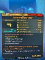 Lvl 65 Anointed Seventh Sense GOD ROLLS Variety BUY2, GET 1 Borderlands 3 Xbox 1