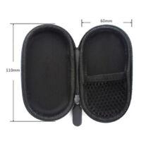 Schwarz Hard Case Aufbewahrungstasche Box für TF-Karte Kopfhörer Ohrhörer BC