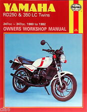 Yamaha RD250LC 247cc RD350LC 347cc Twin Owners Workshop Manual 1980-1982 *NEW