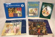 Hooked On Phonics Level 5 Blue Reading & Workbook Set Books 27-30