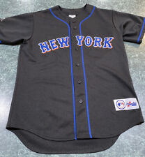 Vintage Majestic New York Mets Black Alternate Jersey Adult Size Medium
