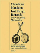 Chords for Mandolin, Irish Banjo, Bouzouki, Tenor Mandola/Mandocello by John Loe