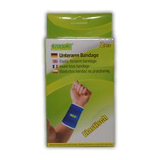 Care4You Unterarm Bandage schoner elastisch Universal Blau 2 Stück
