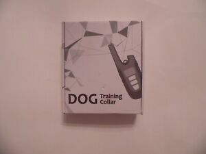 HEZe Dog Training Remote Control Rechargeable Dog Shock Collar NEW in Box!!!