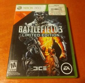 Battlefield 3 Limited Edition Microsoft Xbox 360 DICE , EA Electronic Arts