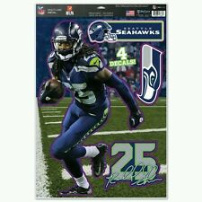RICHARD SHERMAN SEATTLE SEAHAWKS Multi-Use Decals 11x17 Just LIKE a Fathead!