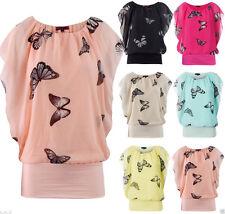 Polyester Animal Print Blouson Dresses for Women