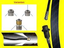 20m Rohrreinigungsschlauch ROHRREINIGUNGSSET Spirale für Kärcher Home K2 K3 -K7
