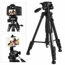 K&F Concept 142cm Leichtes Kamera Stativ für Smartphone iPhone Samsung DSLR SLR