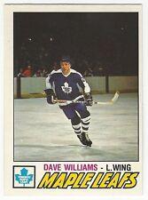 1977-78 OPC HOCKEY #383 DAVE WILLIAMS 2ND YEAR - NEAR MINT-