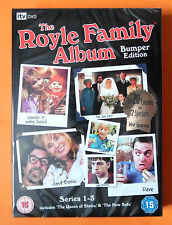 THE ROYLE FAMILY ALBUM BUMPER EDITION SERIES 1-3 + 2 EPISODES *NEW AND SEALED*