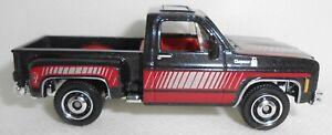 Matchbox 1975 Chevy Stepside Pickup Truck Black. Loose 2021
