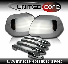08-12 Ford Escape Chrome Mirror Cover + Chrome Door Handle Cover